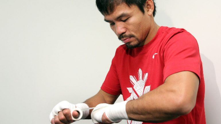 Manny Pacquiao says he felt 'lonely' without boxing