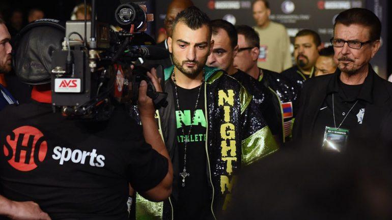 Vanes Martirosyan calls out Haymon