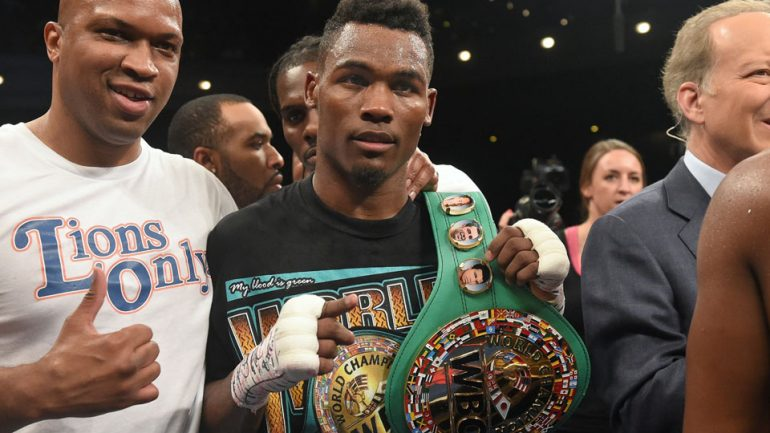 Is Derrick James, coach of Jermell Charlo, Errol Spence, in running for Trainer of the Year?