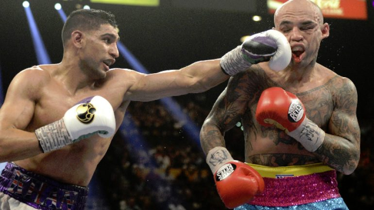 Amir Khan, others sign up late for WBC drug testing