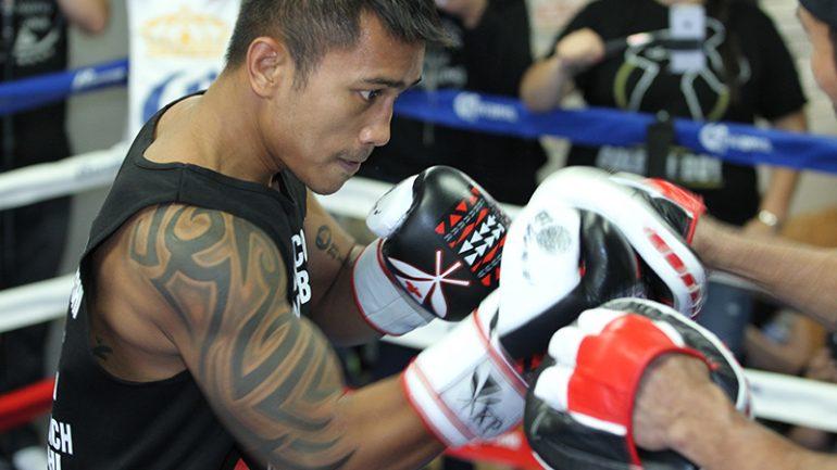 Mercito Gesta-Carlos Molina workout by Hoganphotos/GBP