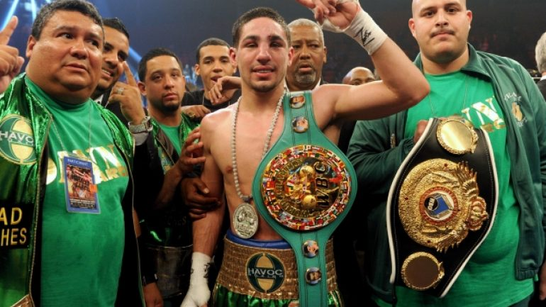 Danny Garcia is back home in Philly and loving it