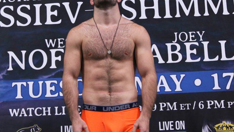 Murat Gassiev-Jordan Shimmell weighin by Andy Samuelson – PBC