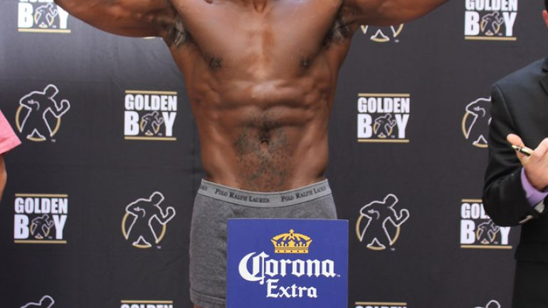 Oct. 2 LA Fight Club weigh-in by GBP