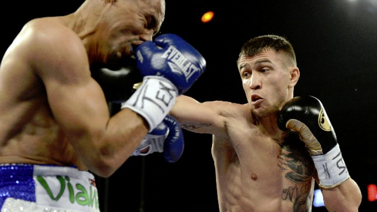 Lomachenko-Salido rematch targeted for August in L.A. or Chicago