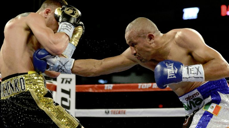 Orlando Salido could appear on May 6 PPV undercard
