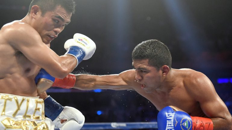 Chocolatito's career on hold while tends to trainer