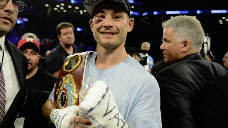 Chris Algieri to join Danny Jacobs camp as nutritionist