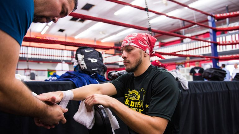 Diego Magdaleno workout 10-5-14