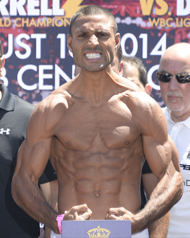 Shawn Porter-Kell Brook Weigh-in