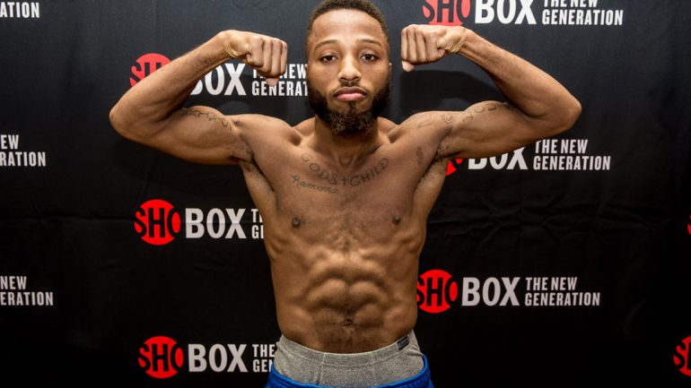 ShoBox: Nikolay Potapov-Stephon Young weigh-in by Rosie Cohe/Showtime
