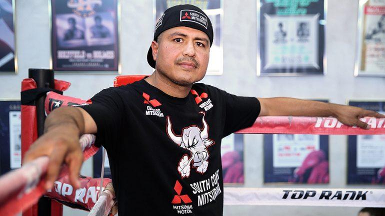 Robert Garcia will be back in Jose Ramirez's corner this Saturday for Viktor Postol