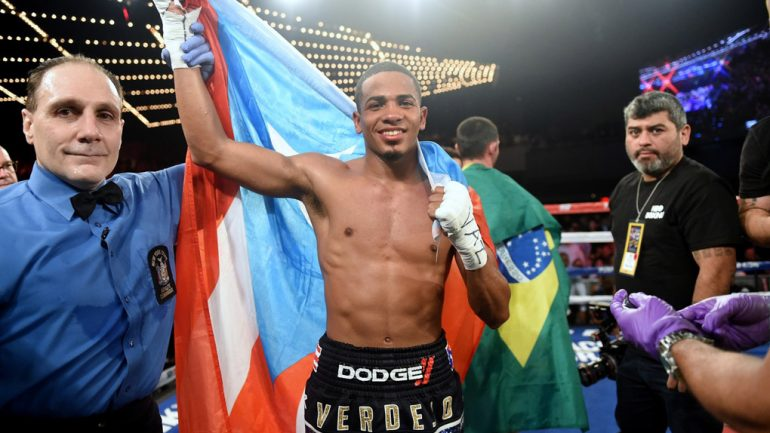 Felix Verdejo announces return Feb. 3 in Puerto Rico
