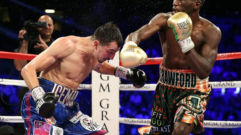 Terence Crawford vs Viktor Postol by Mikey Williams/Top Rank