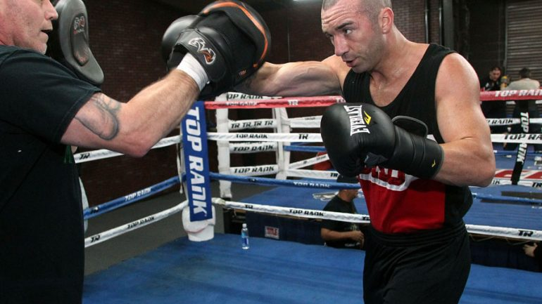 Sean Monaghan waits for Stevenson, with May 27 new target date