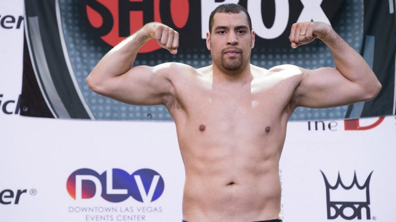 Derric Rossy is tabbed to face Luis Ortiz on April 22 in Brooklyn