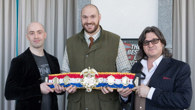 Tyson Fury vacates his titles