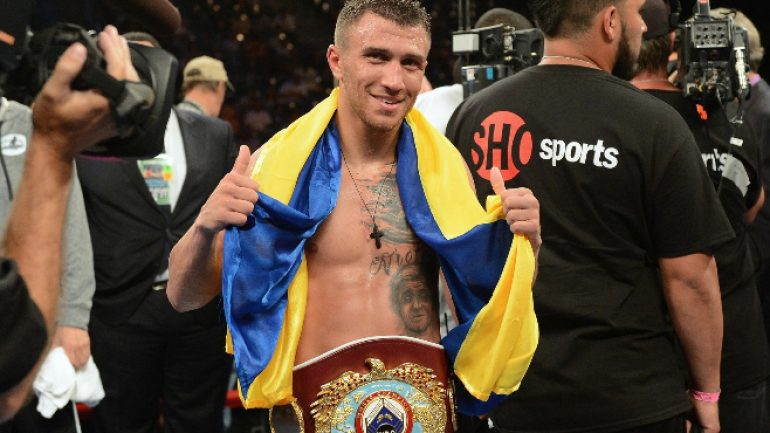 Vasyl Lomachenko vs. Nicholas Walters set for Nov. 26